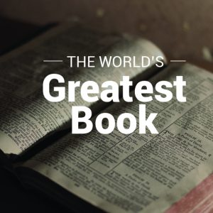The World's Greatest Book sermon series image